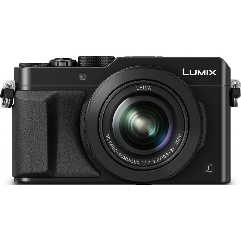 Panasonic Lumix DMC-LX100, must + lisaaku