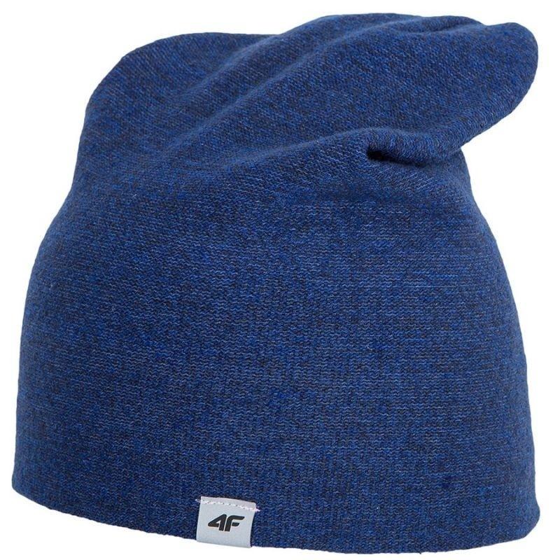 Winter hat for men 4f M H4Z17-CAM003 blue - Hats - Photopoint b45598e8efb6