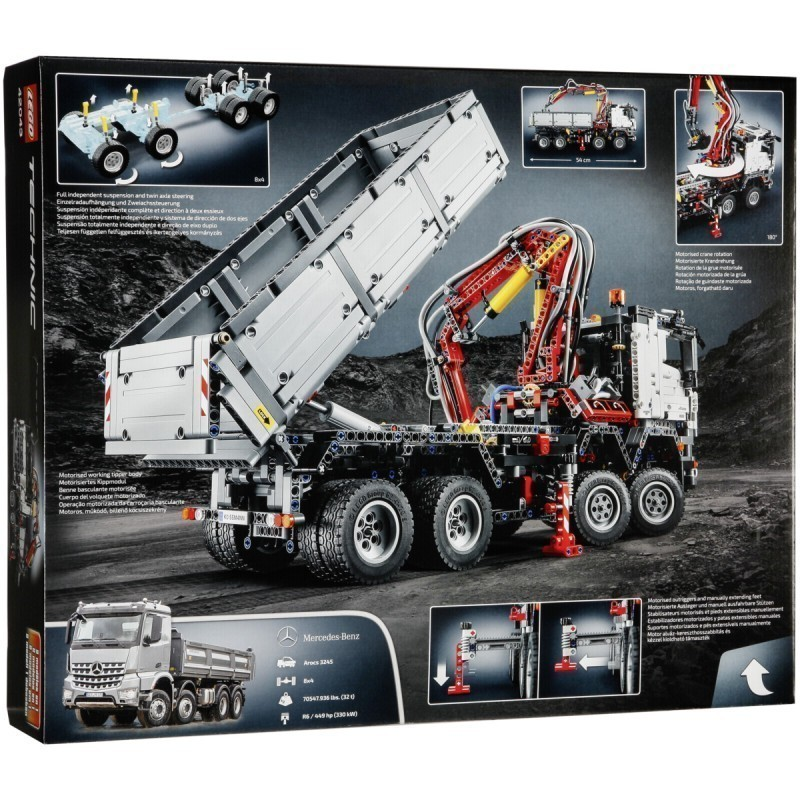 Lego Mercedes Benz Arocs further  besides Maxresdefault additionally Arocs Remote Controlled further Advent Lottery Win An Arocs From Lego Technic Social Media. on lego mercedes benz arocs