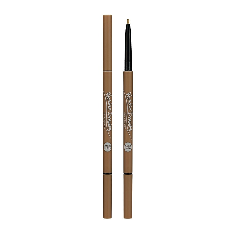 Holika Holika Wonder Drawing Skinny Eyebrow 03 Light Brown Eyebrow