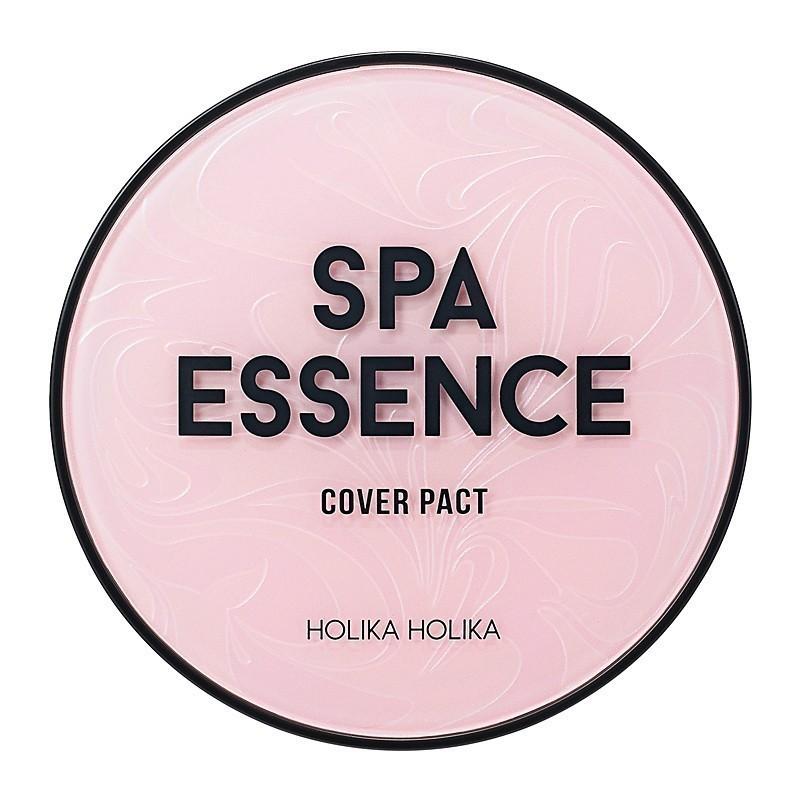 Holika Holika kerge jumestuskreem Spa Essence Cover Pact 01 Petal