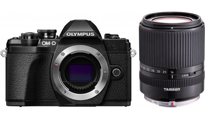 Olympus OM-D E-M10 Mark III + Tamron 14-150 мм, черный