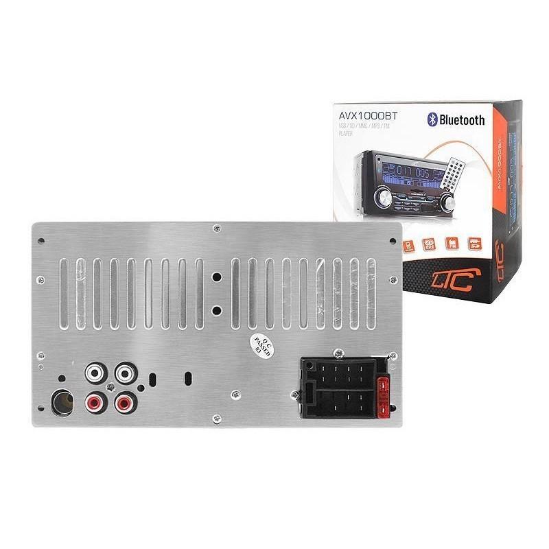 CAR RADIO 2DIN USB SD MP3 FM BLUETOOTH