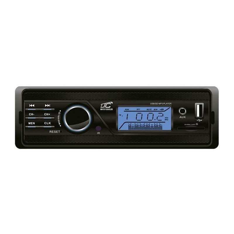 Car Player Ltc Mvx1000ub Fm Aux Micro Sd Usb Port Lcd Car Radios