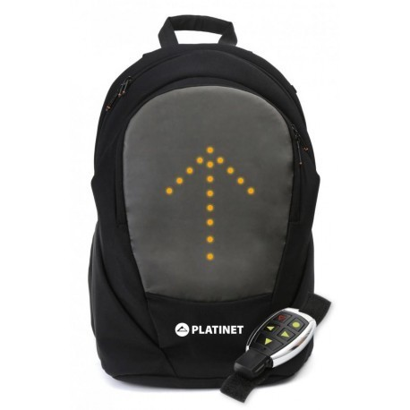 "Platinet backpack 15.6"" Bike LED Blinker"
