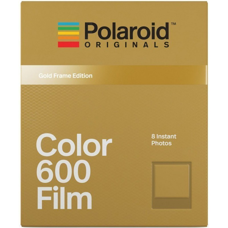 Polaroid 600 Color Gold Frame