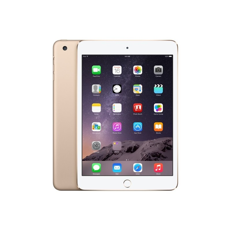 Apple iPad Mini 3 16GB WiFi A1599, kuldne