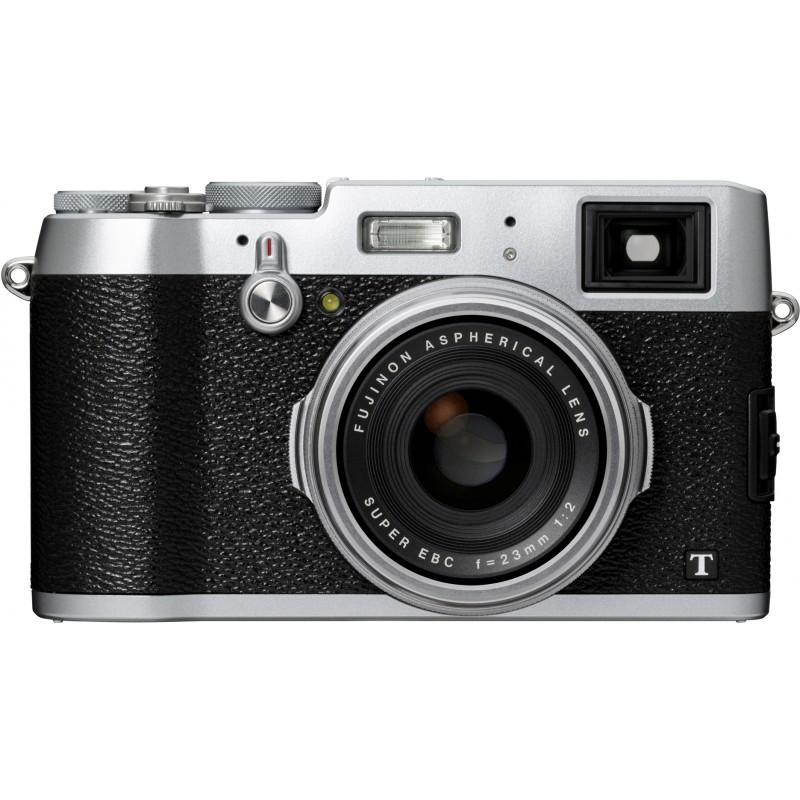 Fujifilm X100T, hõbedane