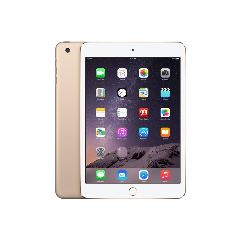 Apple iPad Mini 3 64GB WiFi A1599, kuldne