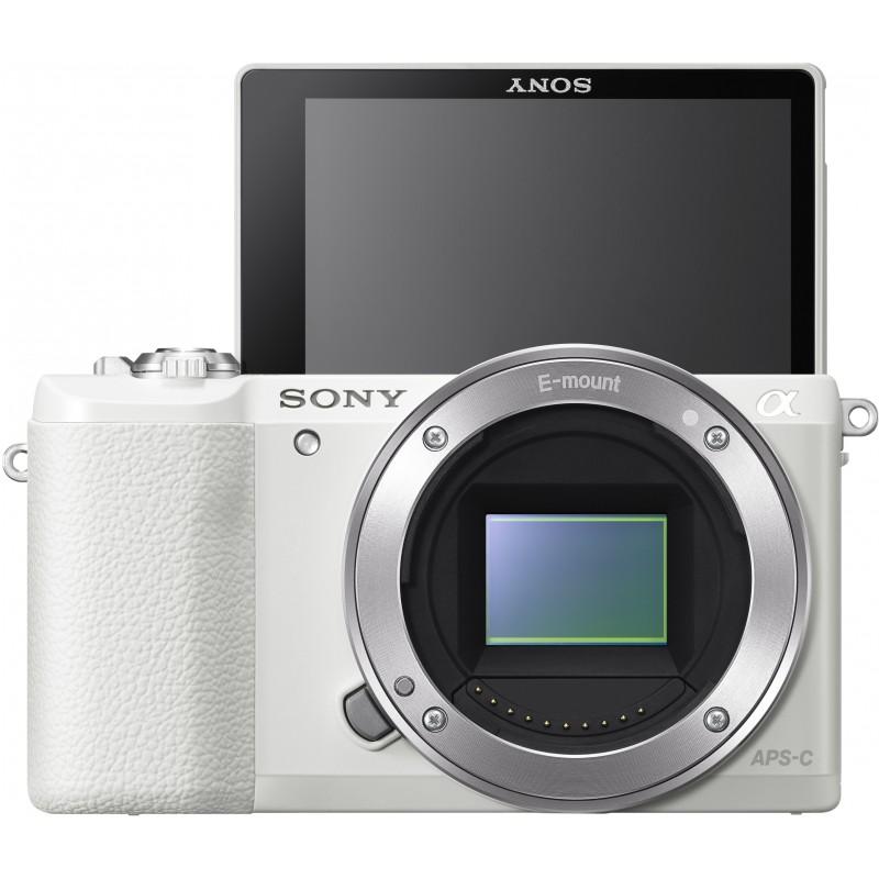 Sony a5100 + 16-50mm Kit, valge