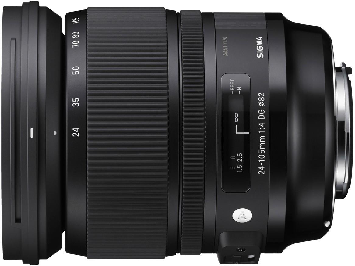 Sigma 24-105mm f/4.0 DG OS HSM Art objek..