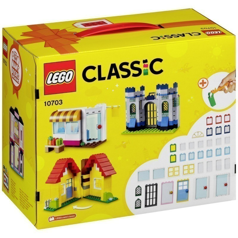 LEGO Classic toy blocks Creative Builder Box (10703) - LEGO - Photopoint