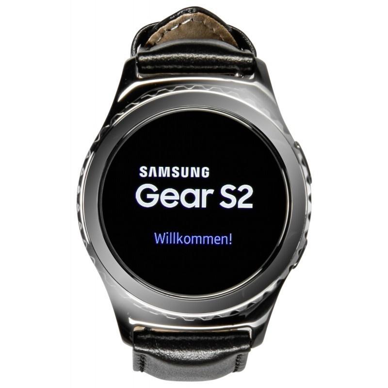 Samsung Gear S2 Classic, black - Smartwatches