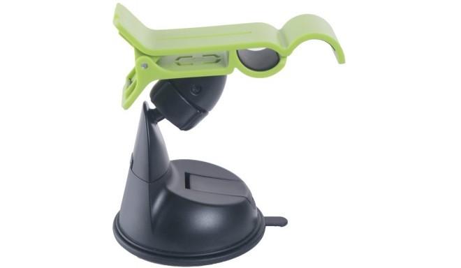 Omega универсальный держатель в автомобиль Avocado, чёрно-зелёный