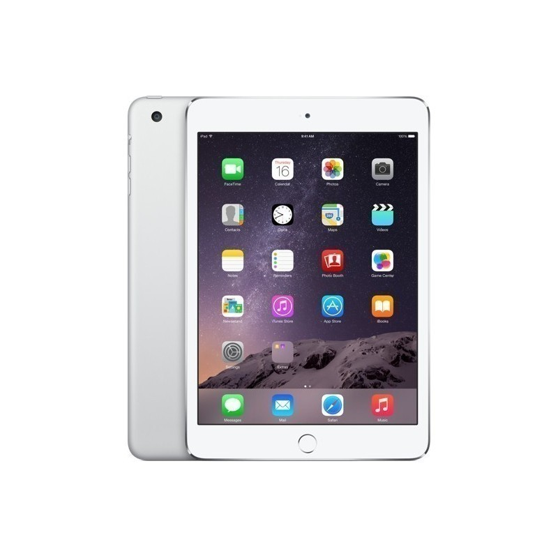 Apple iPad Mini 3 128GB WiFi + 4G, hõbedane
