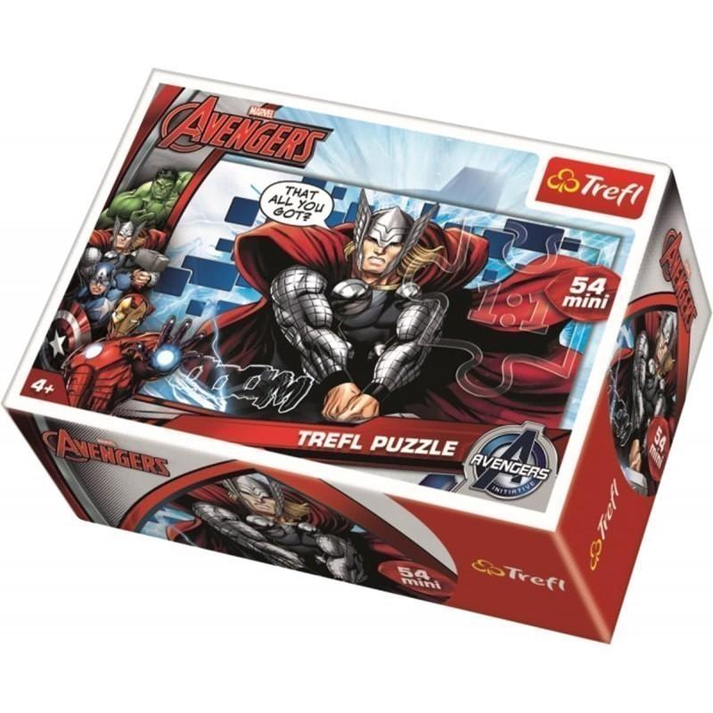 Trefl puzzle Avengers Mini 54pcs (19497)
