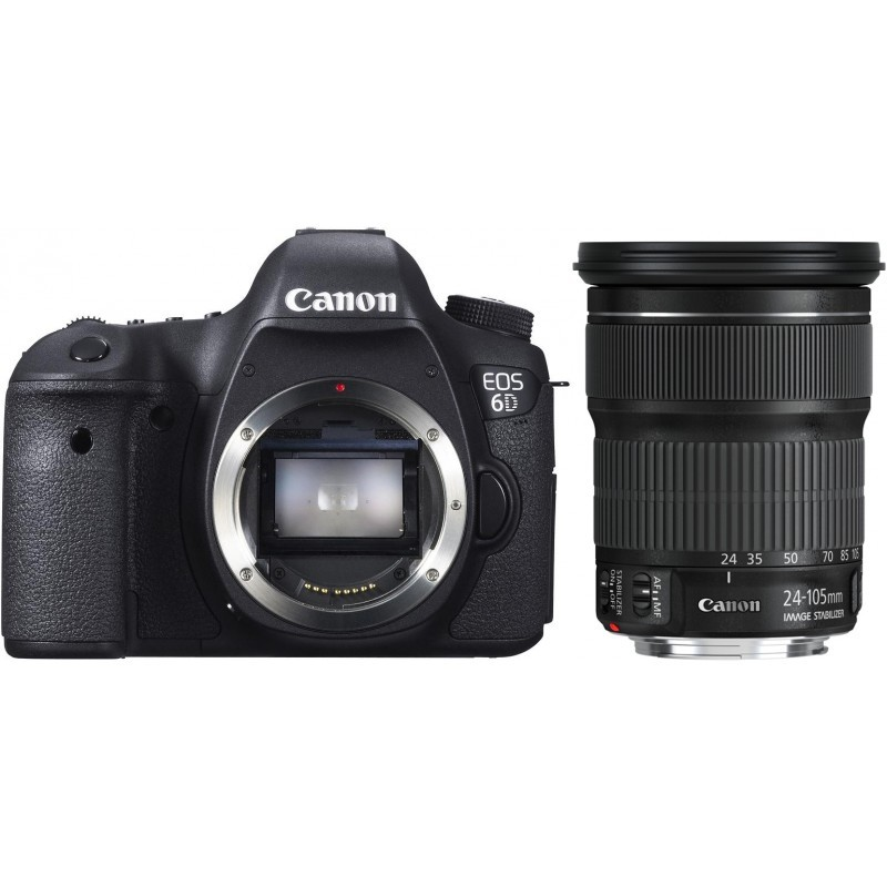 Canon EOS 6D + 24-105мм IS STM Kit