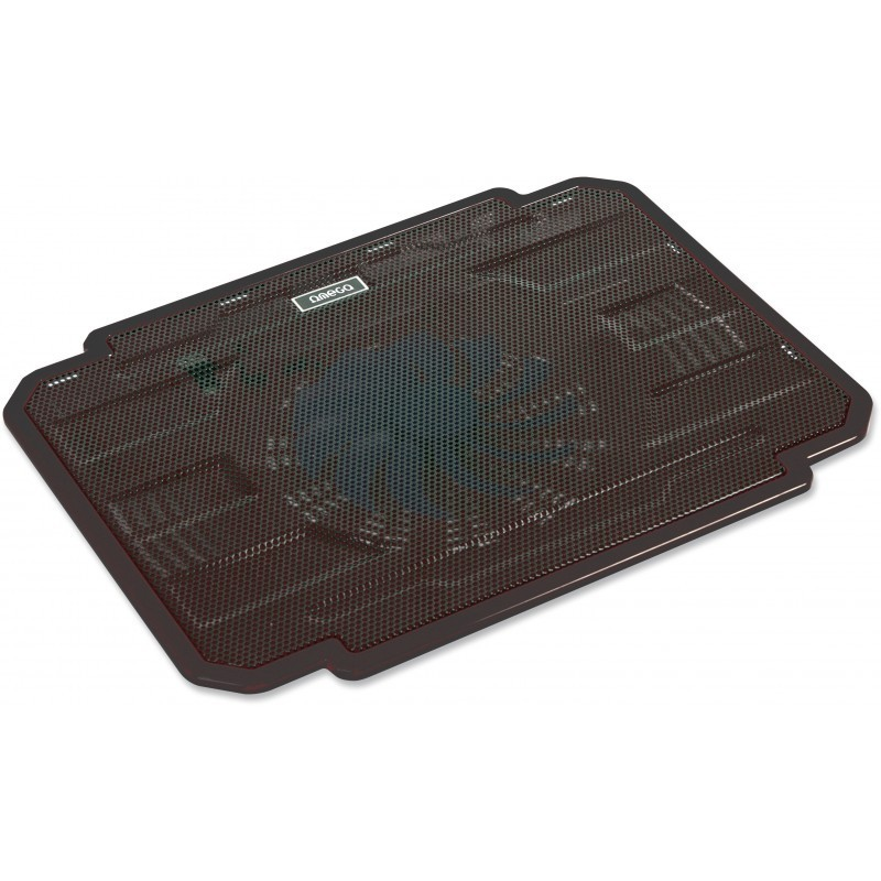 Omega охладительная подставка для ноутбука Ice Box, черная