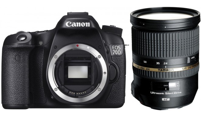 Canon EOS 70D + Tamron 24-70mm f/2.8 VC USD