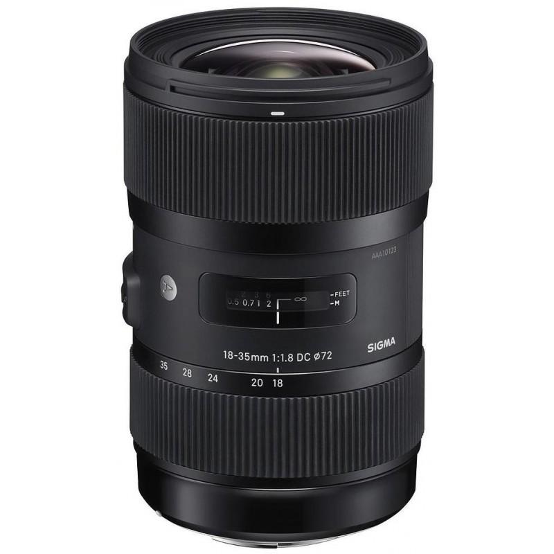 Sigma AF 18-35mm f/1.8 DC HSM A objektiiv Sonyle