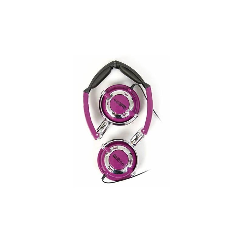 Omega Freestyle kõrvaklapid + mikrofon FH0022, lilla