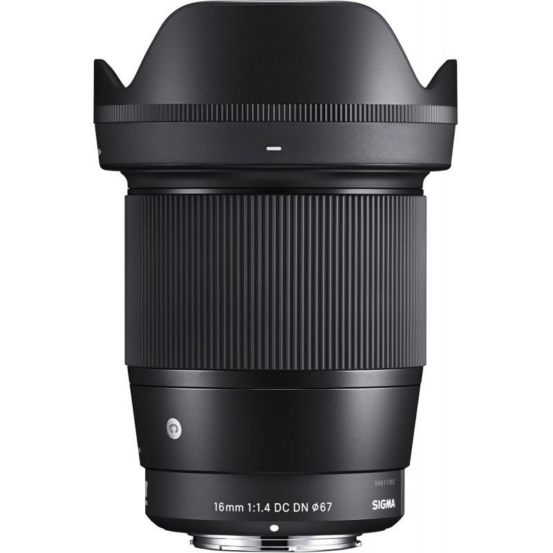 Sigma 16mm f/1.4 DC DN Contemporary objektiiv Sonyle