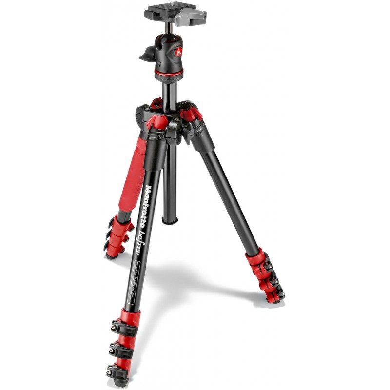 Manfrotto statiiv MKBFRA4R-BH Befree Ball Head Kit, punane