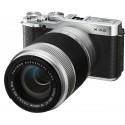 Fujifilm X-A2 + 16-50mm + 50-230mm, hõb