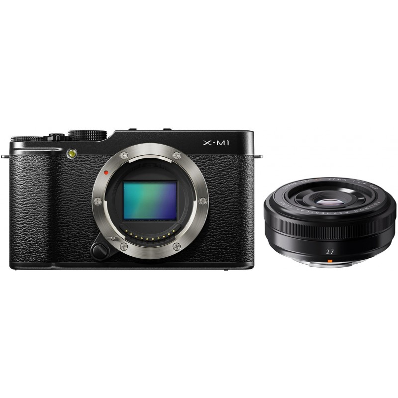 Fujifilm X-M1 + 27мм F2.8, чёрный