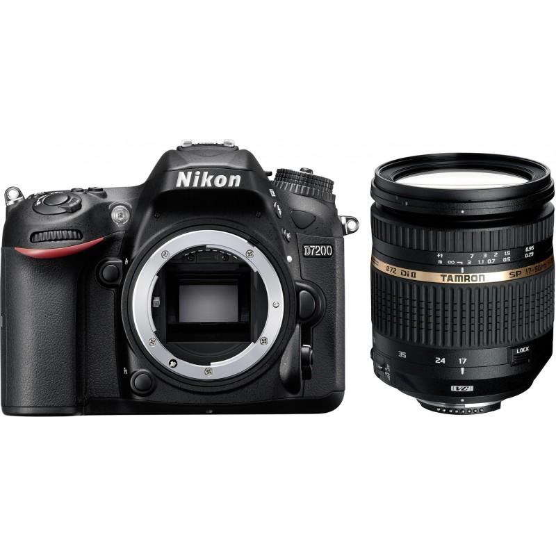 Nikon D7200 + Tamron 17-50mm f/2.8 VC