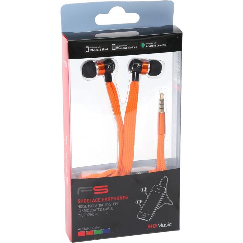 Omega Freestyle kõrvaklapid + mikrofon FH2112, oranž