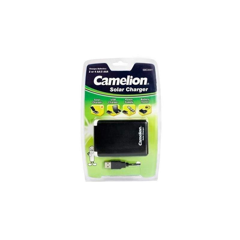 Camelion Solar Charger Sbc 3001 2x Or 4x Aa 2