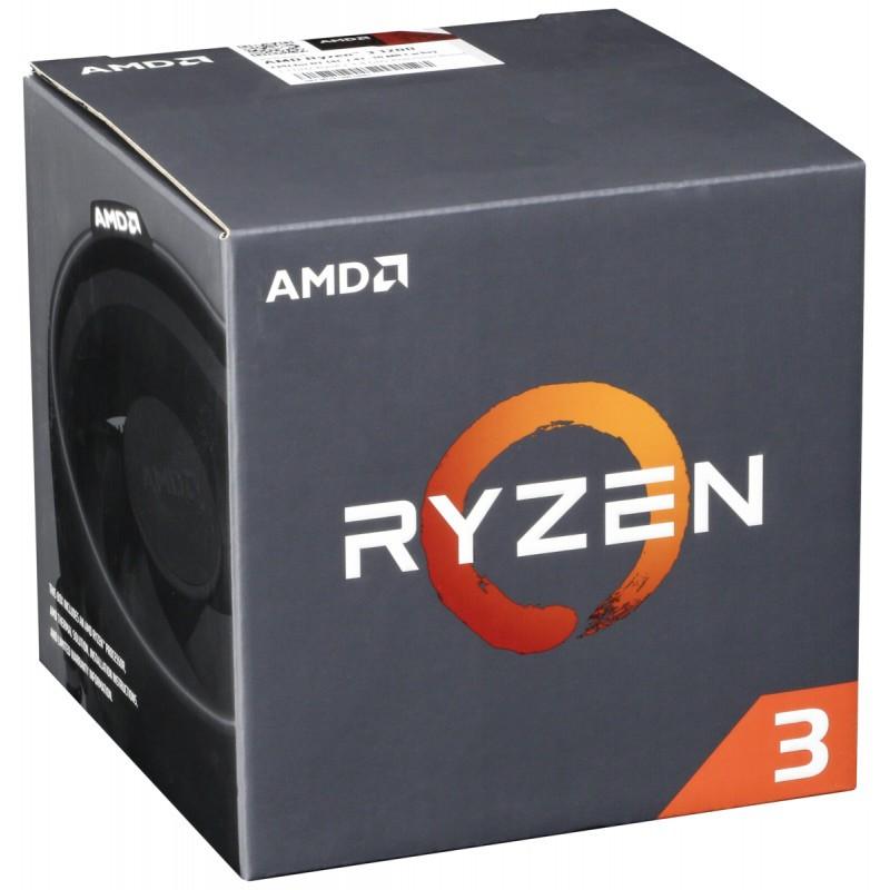 AMD CPU Ryzen 3 1200 3,1 GHz YD1200BBAEBOX