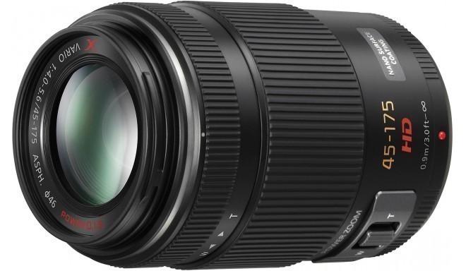 Panasonic Lumix G X Vario PZ 45-175mm f/4.0-5.6 ASPH POWER O.I.S objektiiv, must