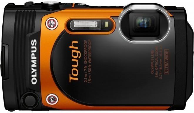 Olympus Stylus Tough TG-860, оранжевый