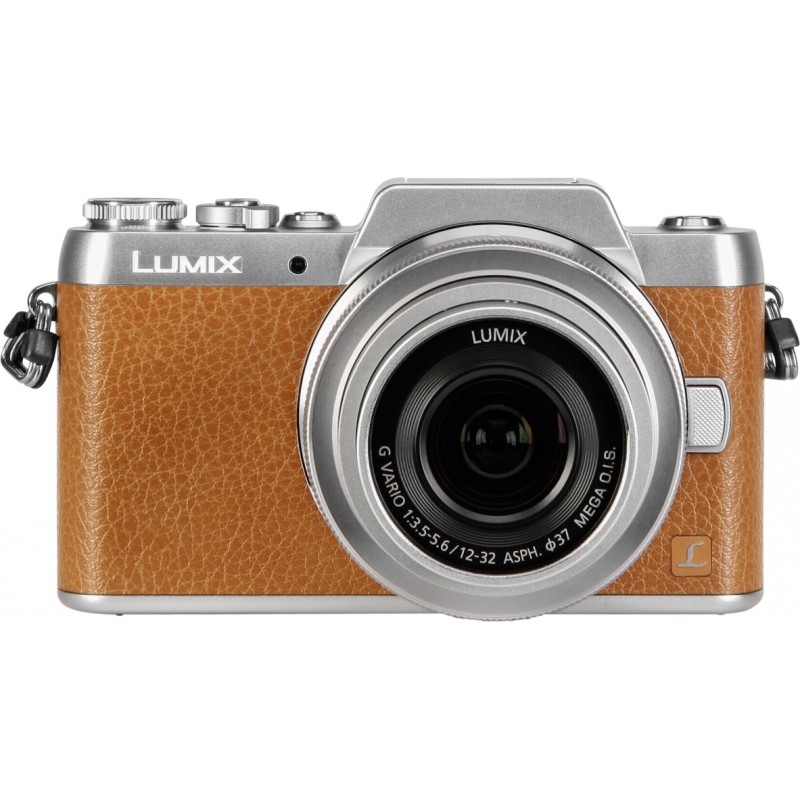 Panasonic Lumix DMC-GF7 + 12-32mm Kit, pruun