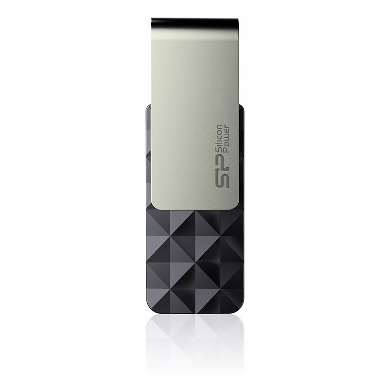Silicon Power flash drive 16GB Blaze B30 USB 3.0, black