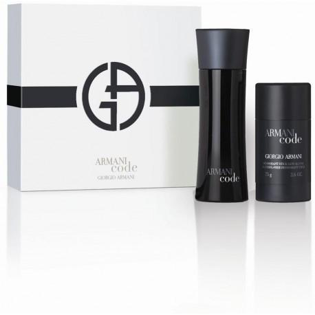 Giorgio Armani Black Code Pour Homme Eau de Toilette 75ml + deostick