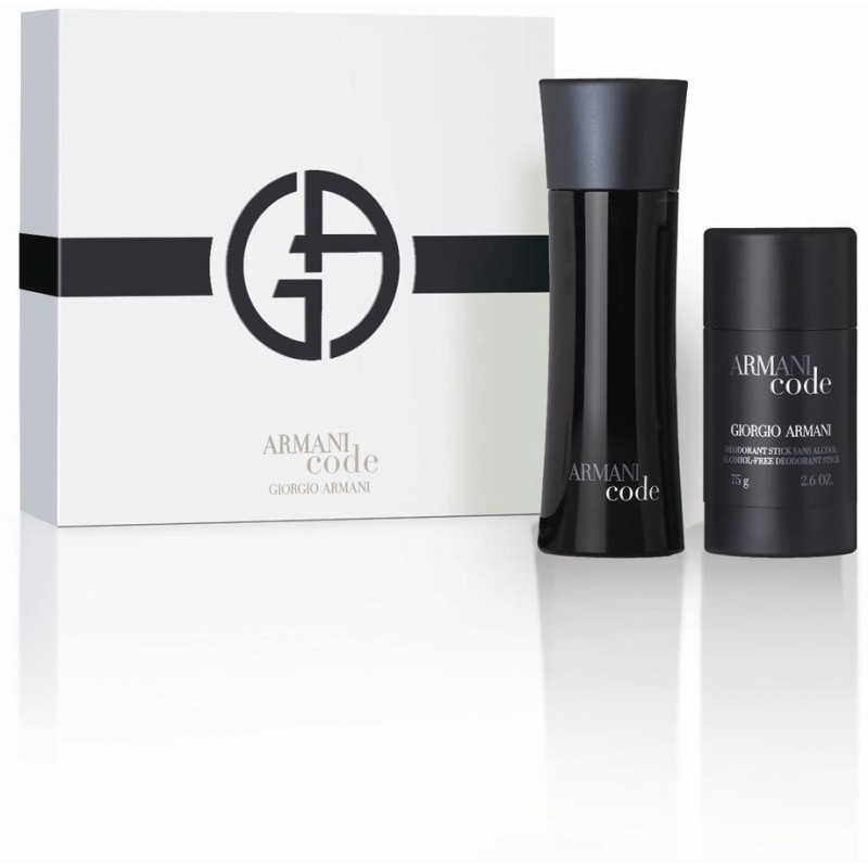 Giorgio Armani Black Code EDT 75ml+deo M