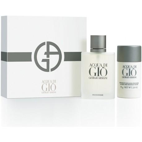 Giorgio Armani Acqua di Gio Pour Homme Eau de Toilette + pulkdeodorant
