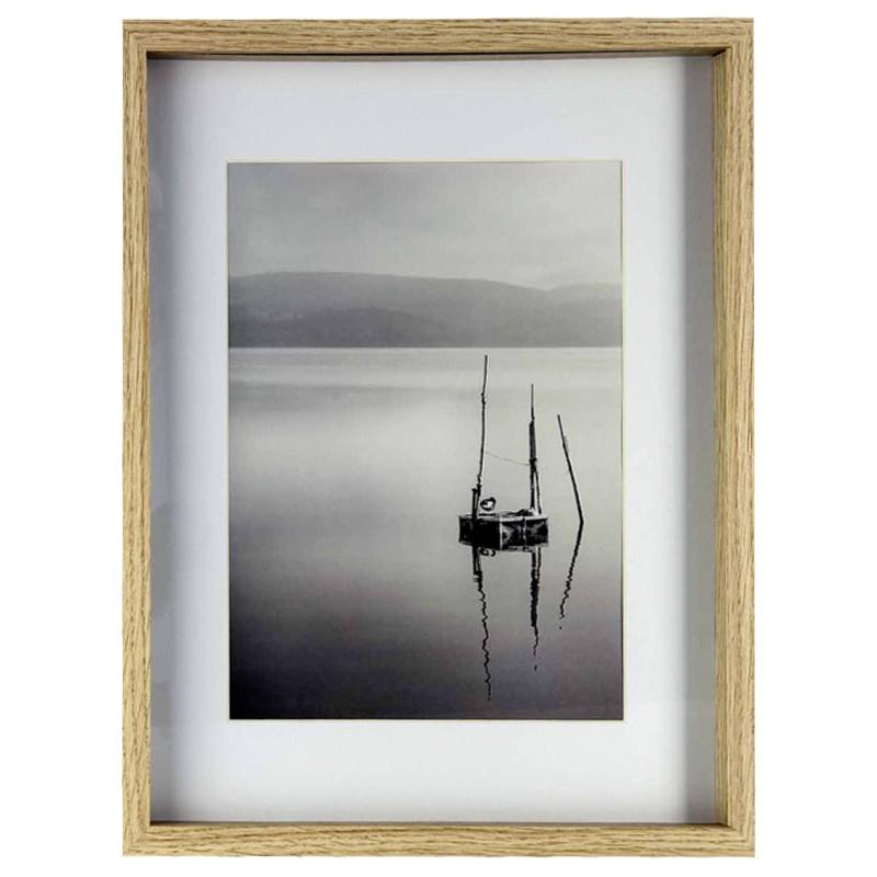 Nielsen picture frame + passepartout Aura 40x50 Wood, oak (1140002 ...