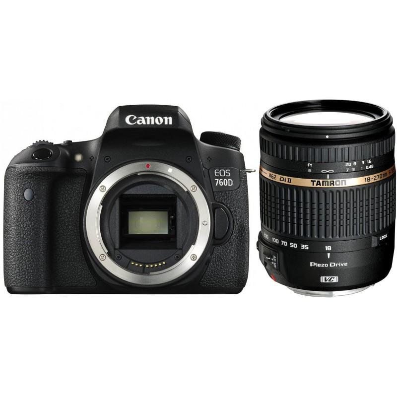 Canon EOS 760D + Tamron 18-270mm VC PZD