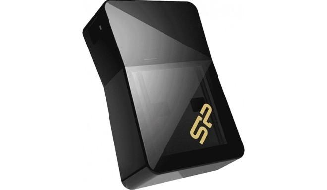 Silicon Power zibatmiņa 16GB Jewel J08 USB 3.0, melna