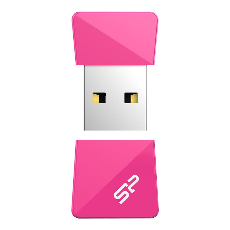 Silicon Power flash drive 16GB Touch T08, pink