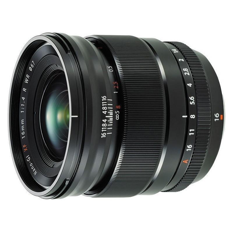 Fujifilm objektiiv XF 16mm f/1.4 R WR