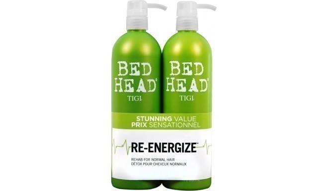 Tigi Bed Head Re-Energize šampūns + kondicionieris 2x750ml
