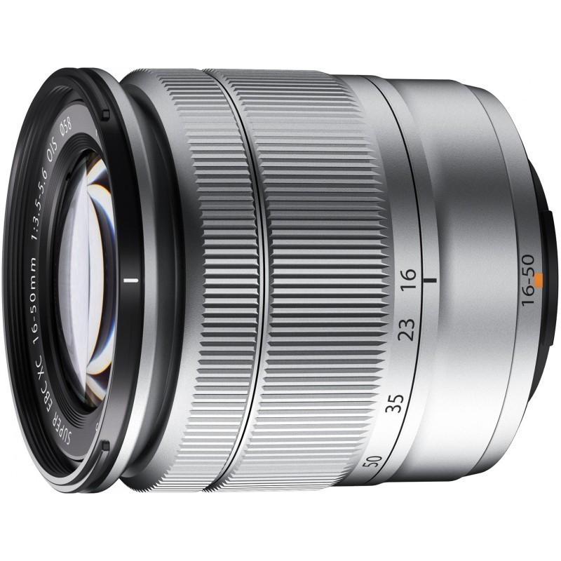 Fujinon XC 16-50мм f/3.5-5.6 объектив, серебристый