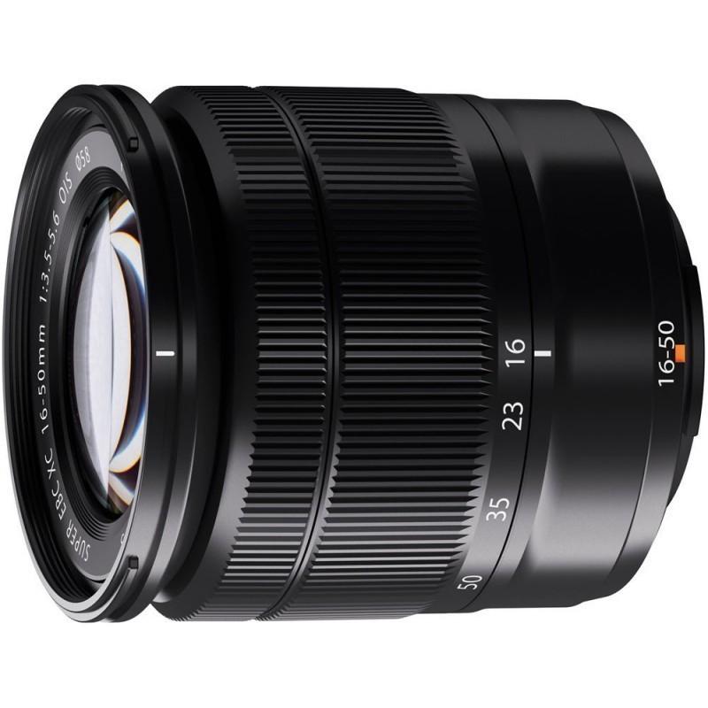 Fujinon XC 16-50mm f/3.5-5.6 OIS objektiiv, must