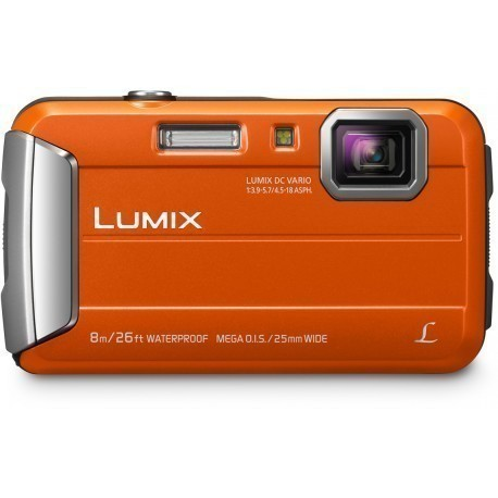 Panasonic Lumix DMC-FT30, оранжевый