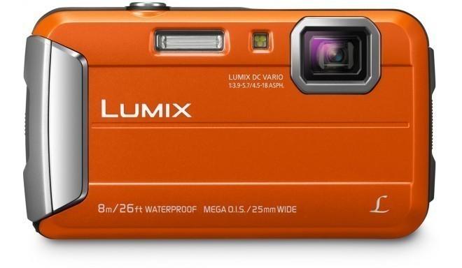 Panasonic Lumix DMC-FT30, oranžs